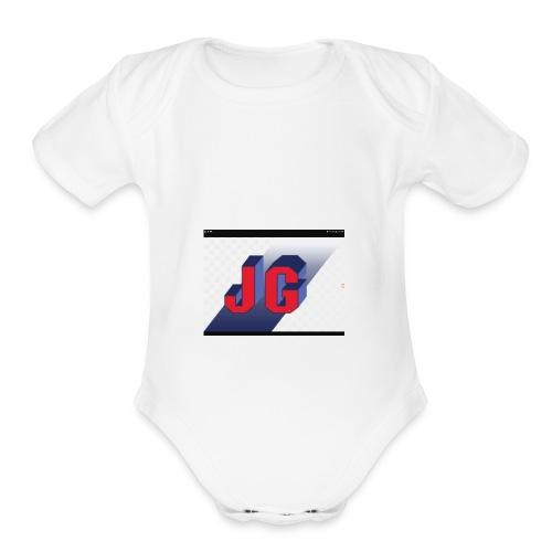 Jimmy Gamer - Organic Short Sleeve Baby Bodysuit