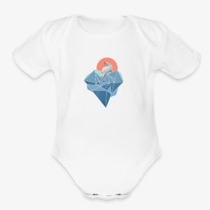 polarbear - Short Sleeve Baby Bodysuit