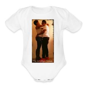 Together 'till never - Short Sleeve Baby Bodysuit