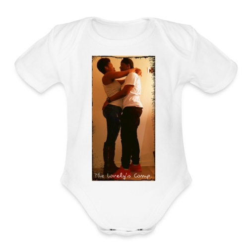 Together 'till never - Organic Short Sleeve Baby Bodysuit
