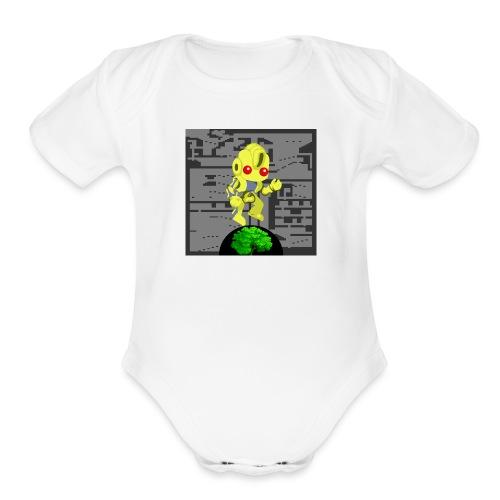 Hollow Earth Mens - Organic Short Sleeve Baby Bodysuit