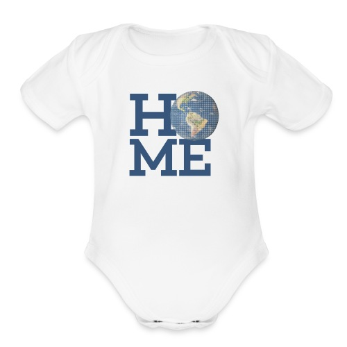 Save the planet - Organic Short Sleeve Baby Bodysuit