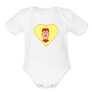 LOVE ALL - Short Sleeve Baby Bodysuit