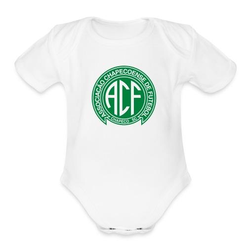 CHAPECOENSE - Organic Short Sleeve Baby Bodysuit