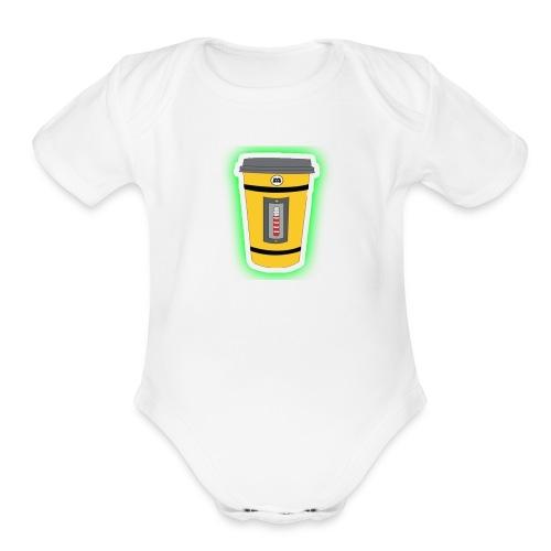 monsters S.a - Organic Short Sleeve Baby Bodysuit