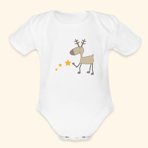 Christmas - Organic Short Sleeve Baby Bodysuit