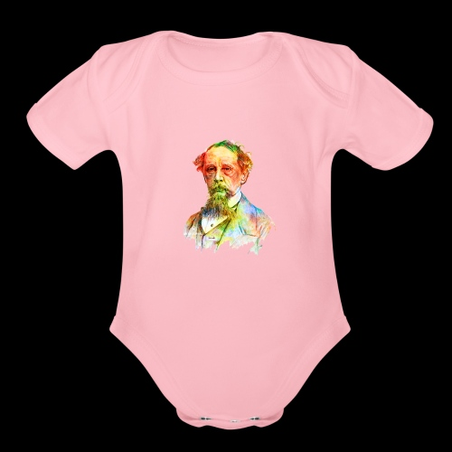 What the Dickens? | Classic Literature Lover - Organic Short Sleeve Baby Bodysuit