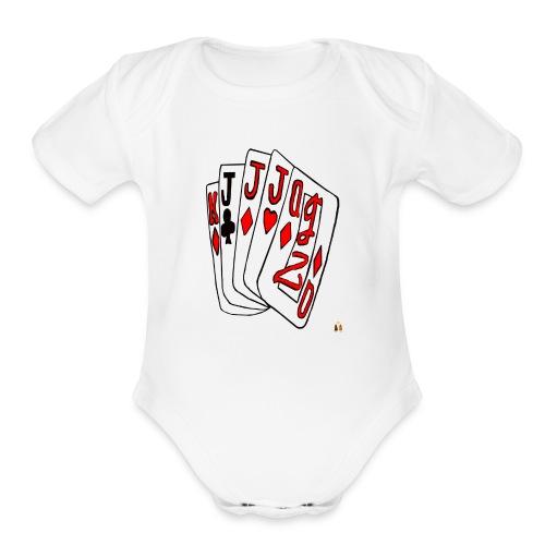 Art Tat - Organic Short Sleeve Baby Bodysuit