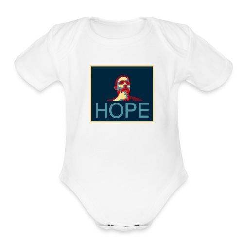 hope - Organic Short Sleeve Baby Bodysuit