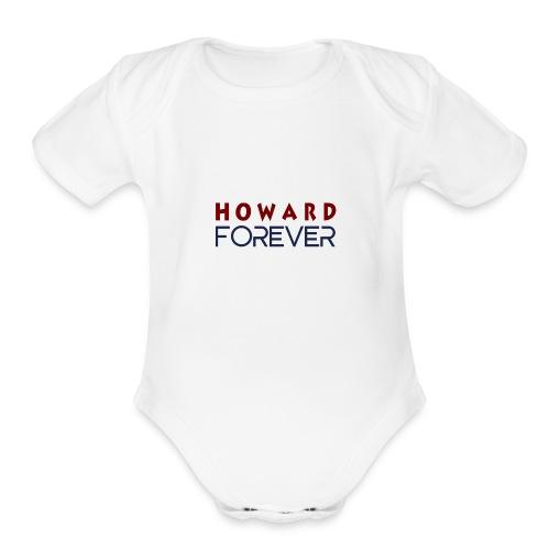 Howard Forever - Organic Short Sleeve Baby Bodysuit