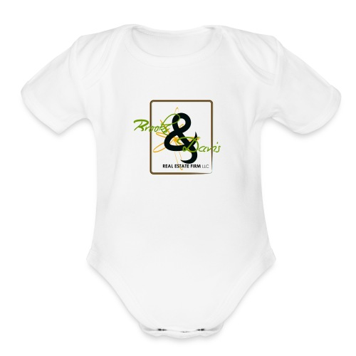Brooks and Davis - Organic Short Sleeve Baby Bodysuit