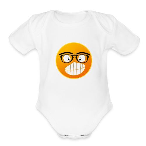 EMOTION - Organic Short Sleeve Baby Bodysuit