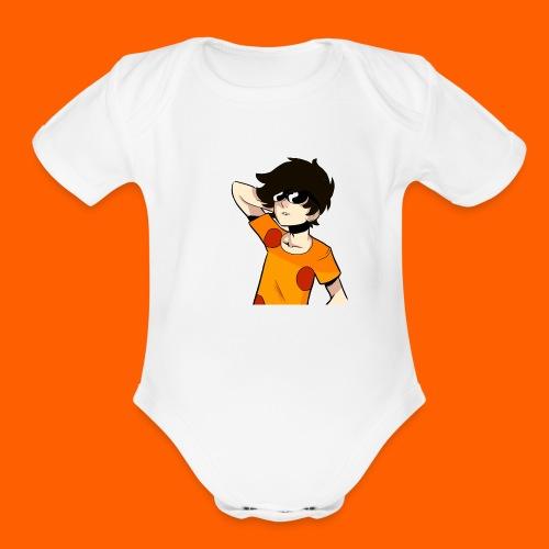 La camiseta AMBERK - Organic Short Sleeve Baby Bodysuit