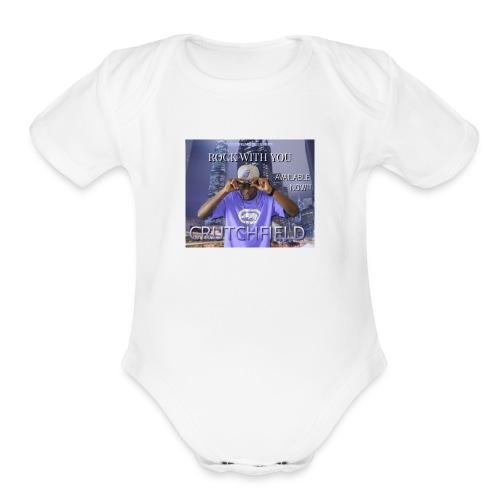 Crutch's Gear - Organic Short Sleeve Baby Bodysuit
