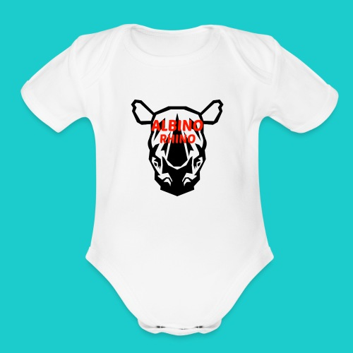 Youtube logo red - Organic Short Sleeve Baby Bodysuit