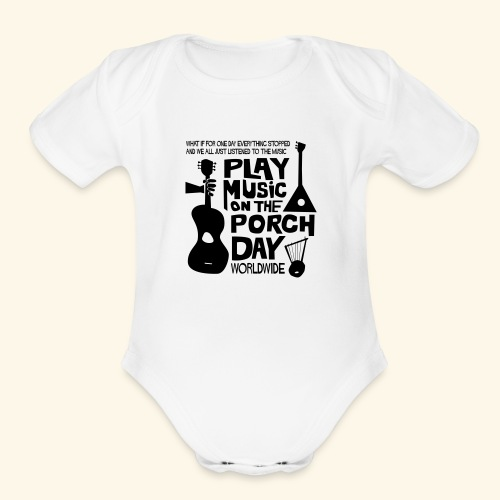 FINALPMOTPD_SHIRT1 - Organic Short Sleeve Baby Bodysuit