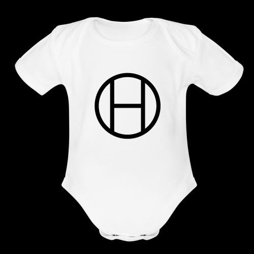 logo premium tee - Organic Short Sleeve Baby Bodysuit