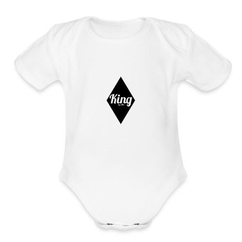 King Diamondz - Organic Short Sleeve Baby Bodysuit