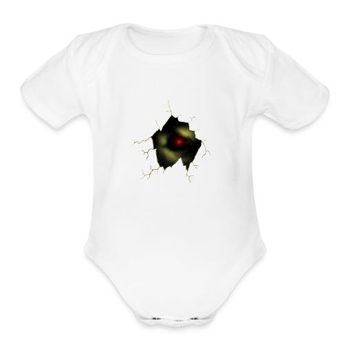 Broken Egg Dragon Eye - Organic Short Sleeve Baby Bodysuit