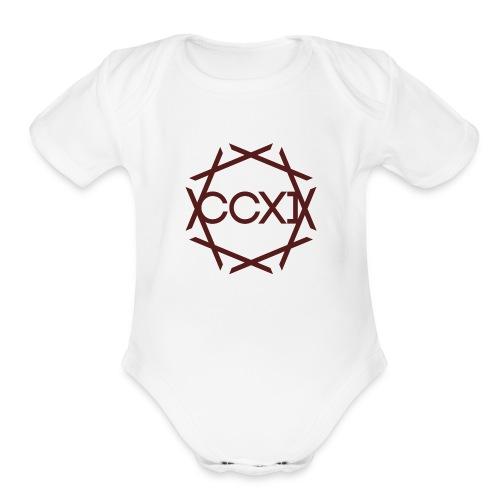ccxi - Organic Short Sleeve Baby Bodysuit