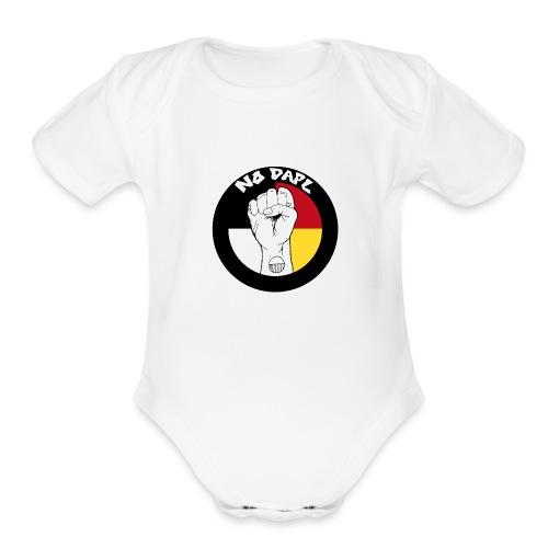NoDAPL by Kardena Manycows (artist) - Organic Short Sleeve Baby Bodysuit