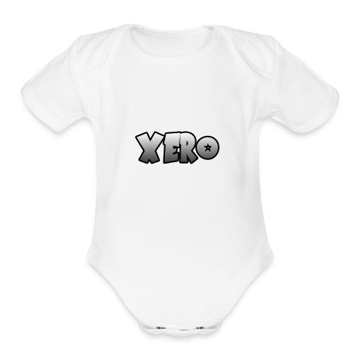 Xero (No Character) - Organic Short Sleeve Baby Bodysuit
