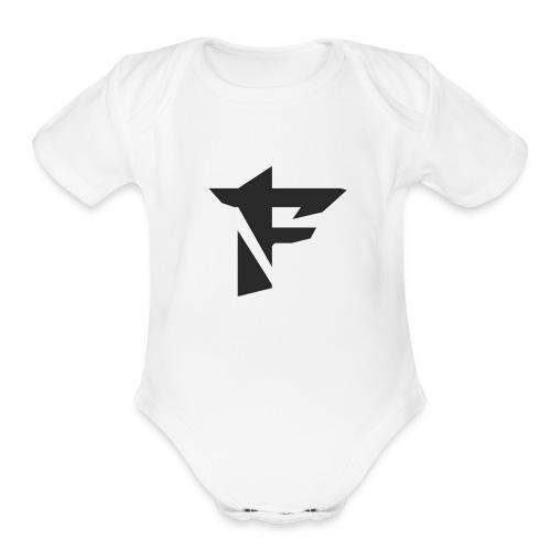 fallen nation apparale - Organic Short Sleeve Baby Bodysuit