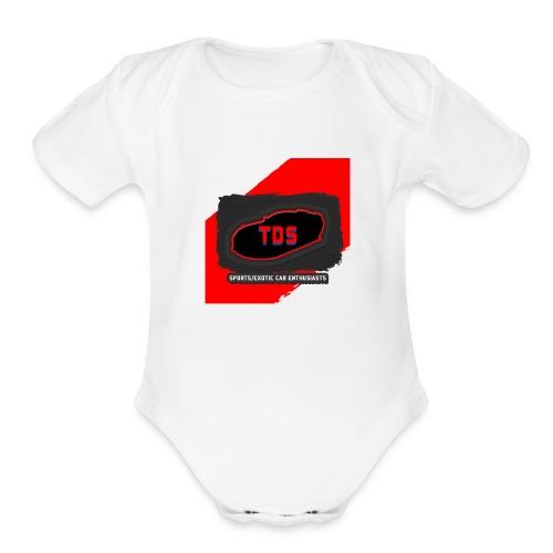 TDS_Shirt - Organic Short Sleeve Baby Bodysuit