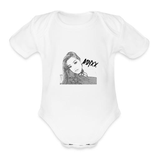 ADYXX 1 - Organic Short Sleeve Baby Bodysuit