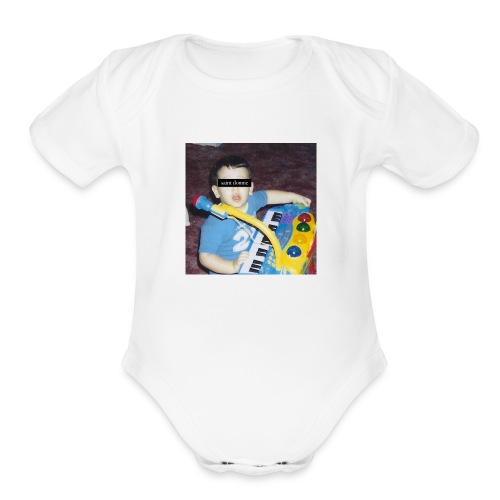 childhood - Organic Short Sleeve Baby Bodysuit