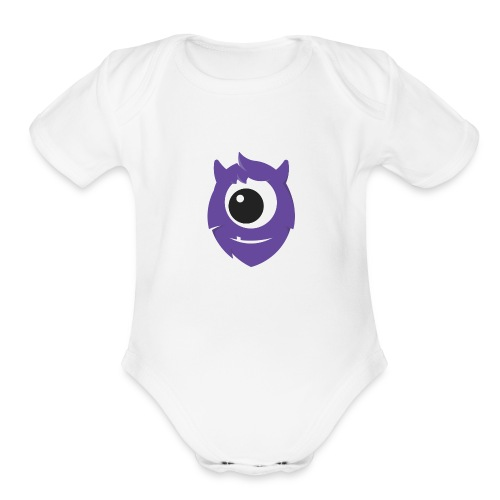 Paul - Organic Short Sleeve Baby Bodysuit