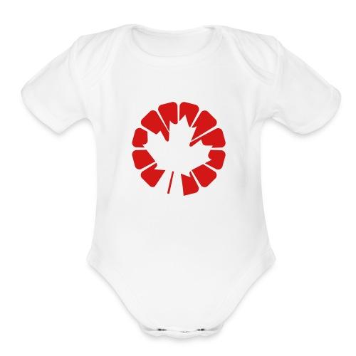 Canada 150 Edition - Organic Short Sleeve Baby Bodysuit
