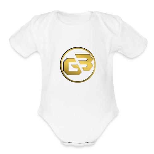 Premium Design - Organic Short Sleeve Baby Bodysuit