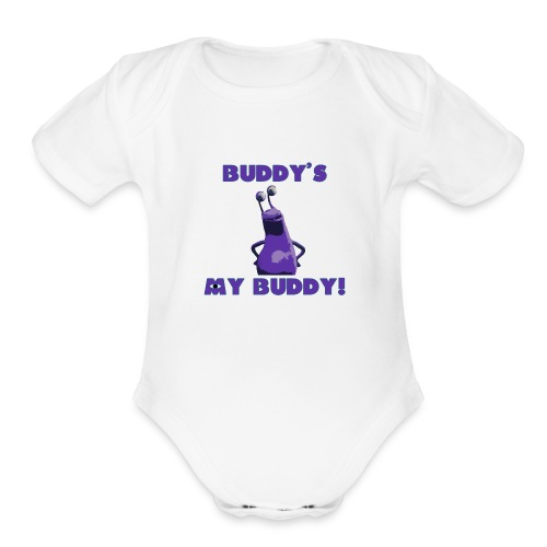 Buddy's My Buddy - Organic Short Sleeve Baby Bodysuit