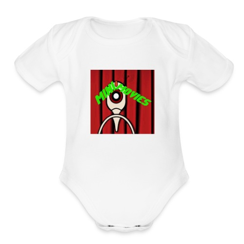 youtube mini movies - Organic Short Sleeve Baby Bodysuit