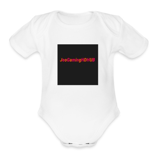 JEO LOVE - Organic Short Sleeve Baby Bodysuit