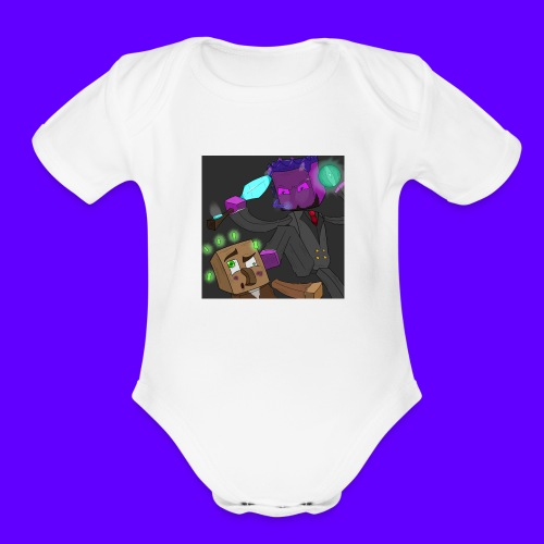 Swag Merch 1.0 - Organic Short Sleeve Baby Bodysuit