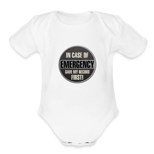 case record - Organic Short Sleeve Baby Bodysuit