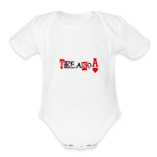 TeeAndA - Organic Short Sleeve Baby Bodysuit
