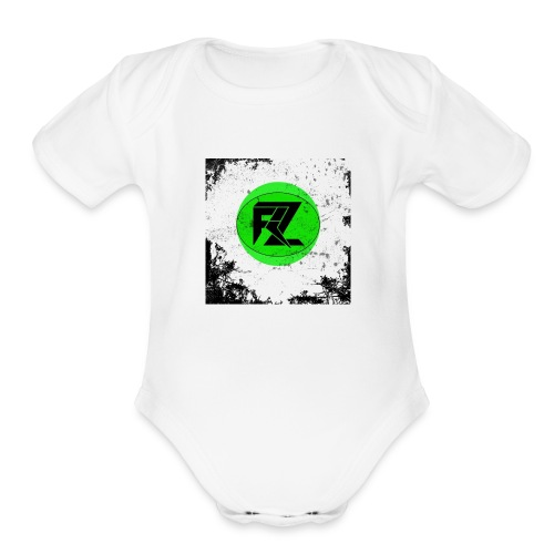 EXPERIENCE THE BASS - Organic Short Sleeve Baby Bodysuit