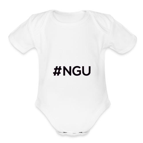 logo 11 final - Organic Short Sleeve Baby Bodysuit