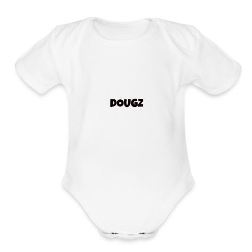 DOUGZ - Organic Short Sleeve Baby Bodysuit