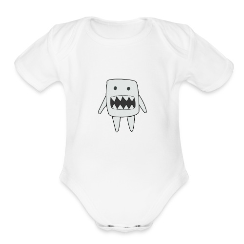 doodle_yeah - Organic Short Sleeve Baby Bodysuit