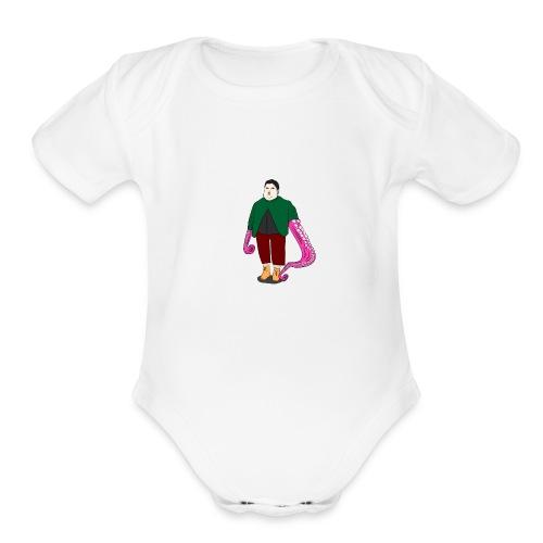 Life - Organic Short Sleeve Baby Bodysuit