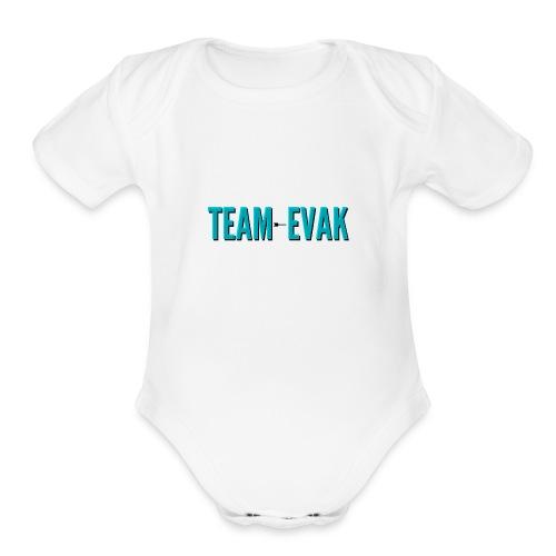 Team Evak Design - Skam - Organic Short Sleeve Baby Bodysuit