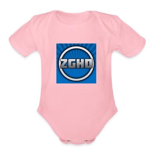 ZedGamesHD - Organic Short Sleeve Baby Bodysuit