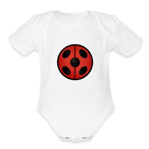 ladybug - Organic Short Sleeve Baby Bodysuit