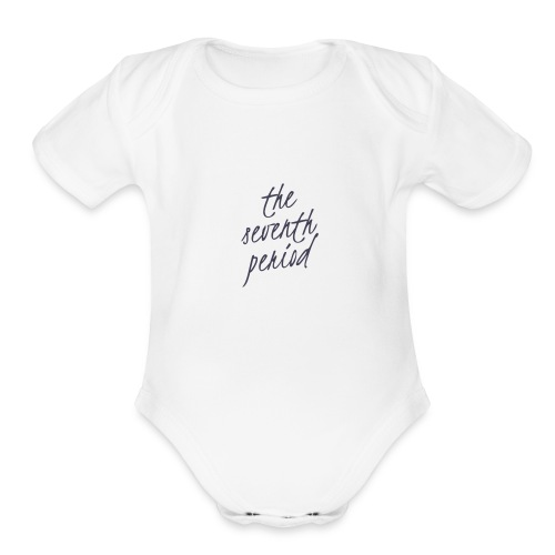 The Seventh Period - Organic Short Sleeve Baby Bodysuit