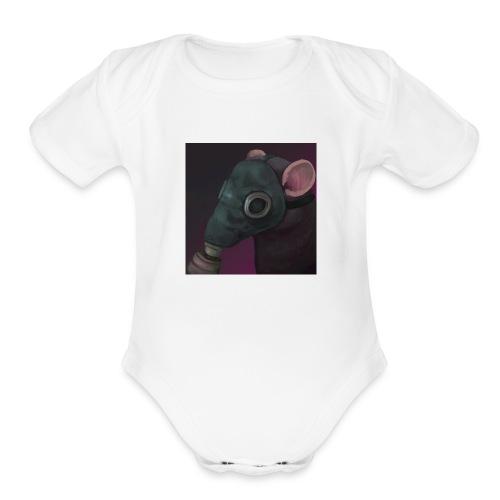 the ratflippus - Organic Short Sleeve Baby Bodysuit