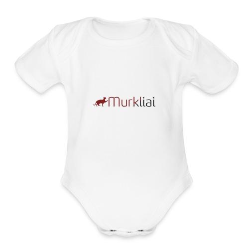 Murkliai - Organic Short Sleeve Baby Bodysuit